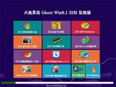 大地系统Windows8.1 32位 内部装机版 2021.04