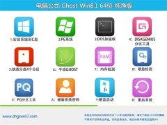 电脑公司Windows8.1 2021.04 64位 大师纯净版