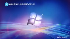 电脑公司免激活win7 64位万能大神版v2021.10